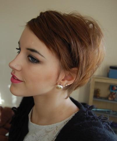 cortes de pelo corto mujer 2012   peinados cortes de pelo