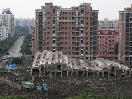 Derribo Lotus River Side (Shangai)