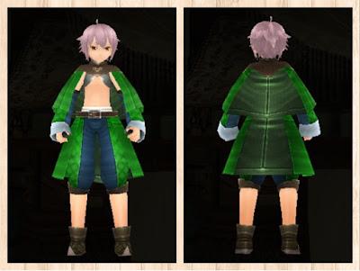 メイジローブ 緑1