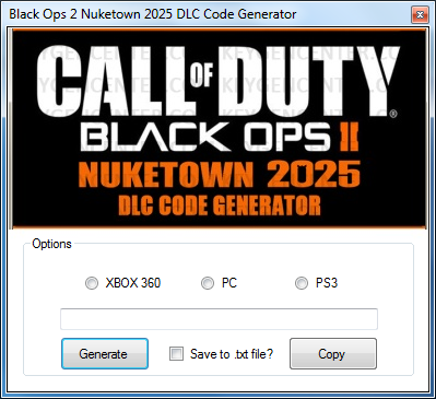 Free Nuketown 2025 Code. поделились ссылкой.
