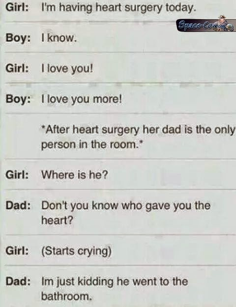 funny heart surgery messages