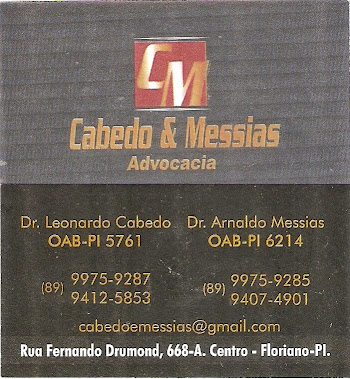 Cabedo & Messias - Advocacia