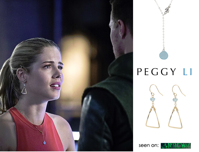 Felicity (Emily Bett Rickards) on Arrow
