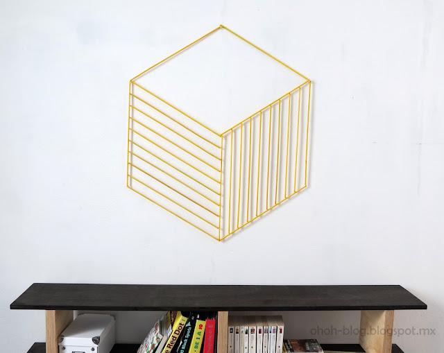 DIY wall decoration / Decoracion de pared