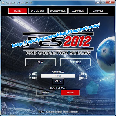 Patch PES 2012 Ultimate Patch 1.0 By Razib-46, Aep Saepuloh