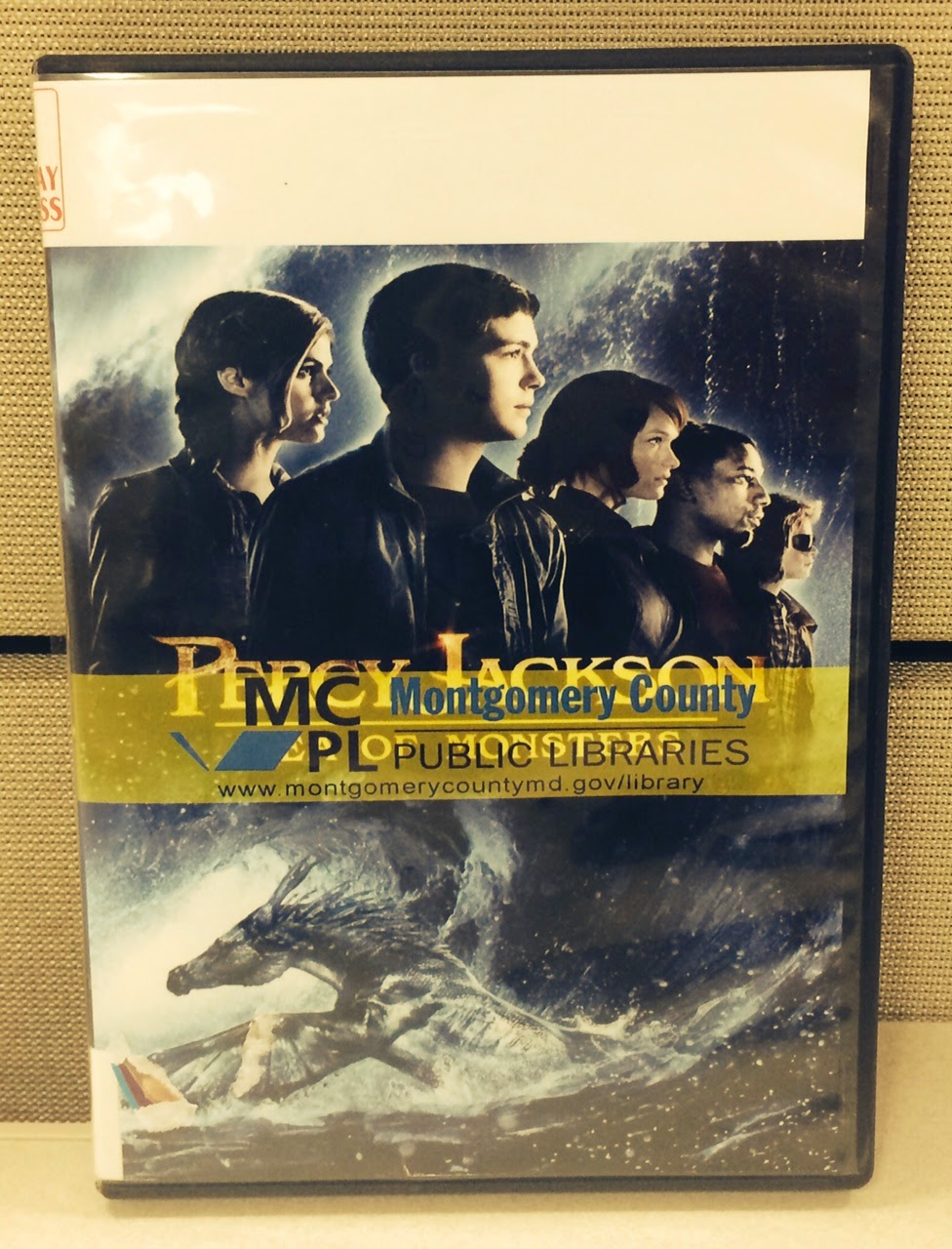 Percy Jackson: Sea of Monsters DVD cover