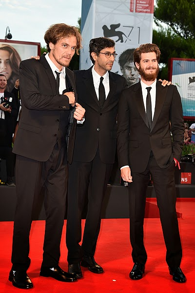 Michael Shannon, Ramin Bahrani and Andrew Garfield
