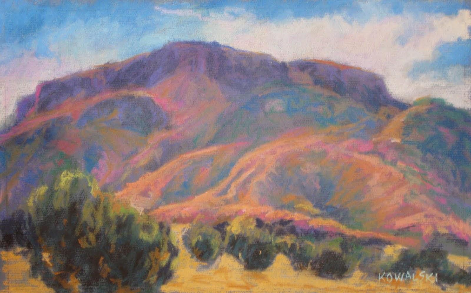 San Ildeonso Mesa, New Mexico