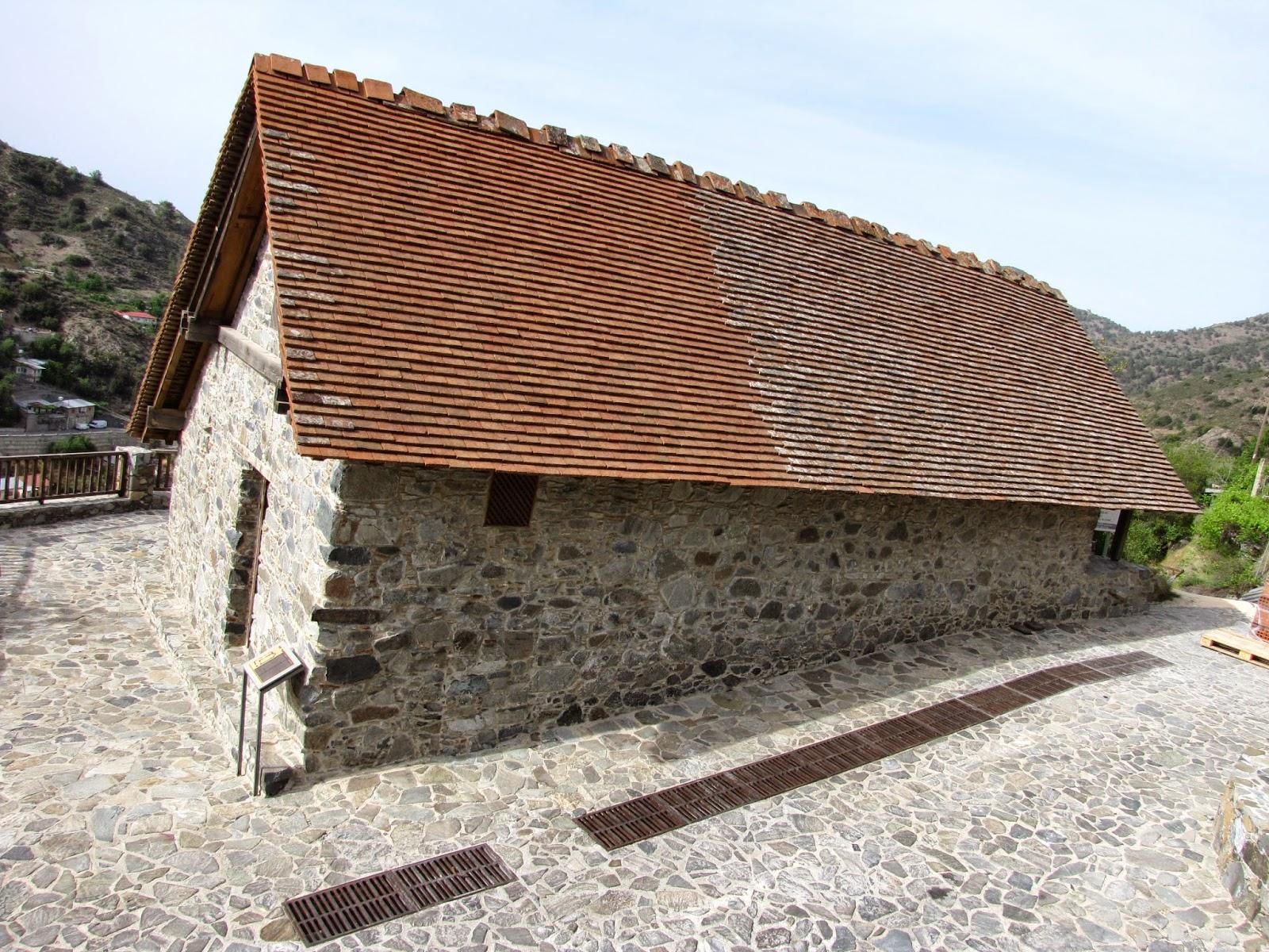 Chipre - Troodos - Iglesia de Panagia