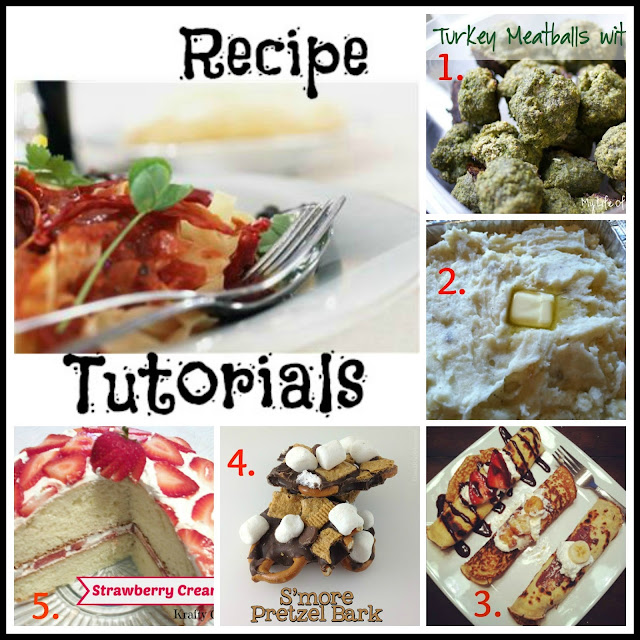 recipe tutorials linky
