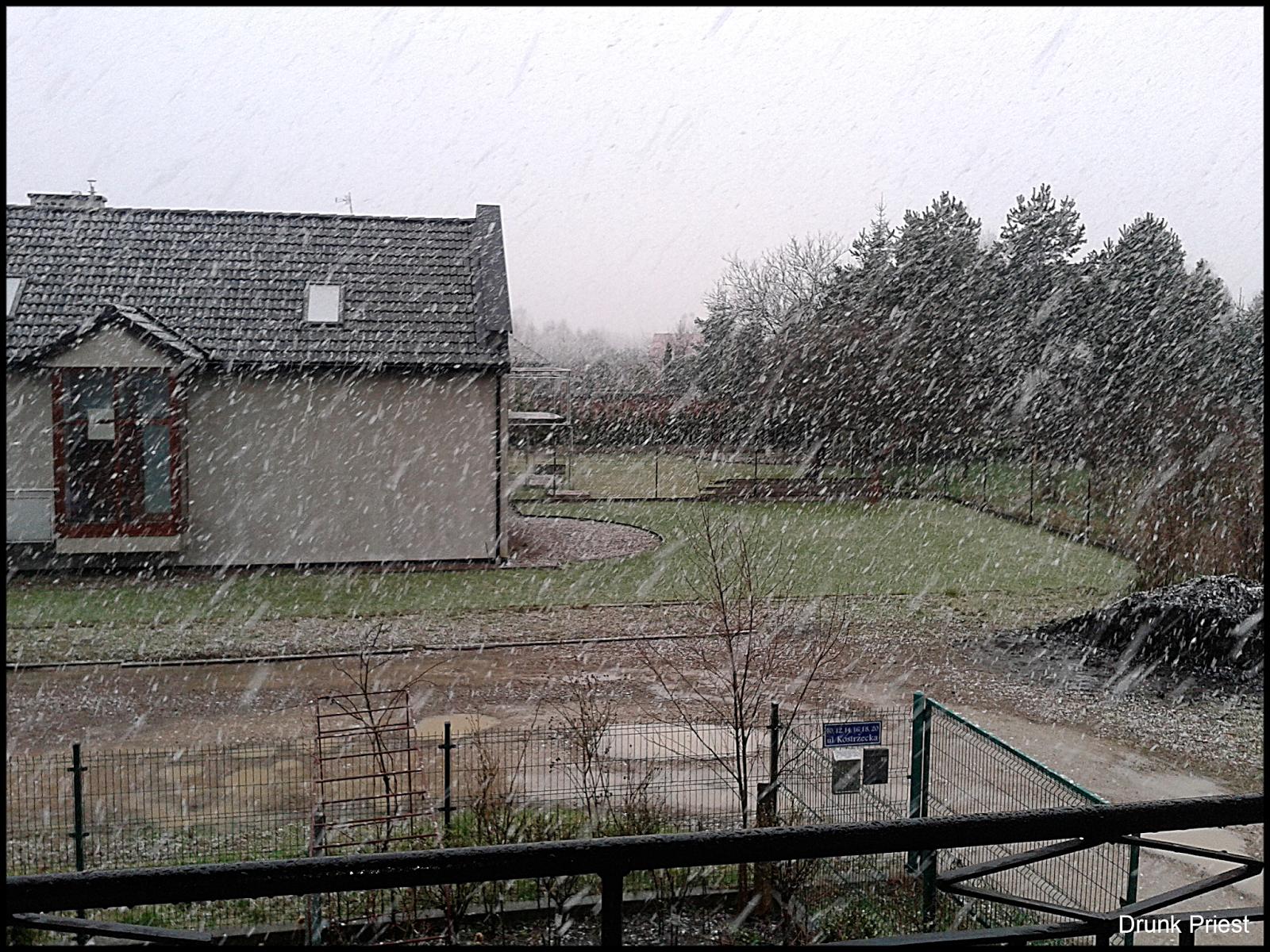 Śnieg w kwietniu