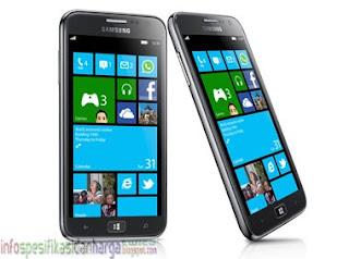Harga Samsung Ativ S GT-i8750 (Odyssey) Hp Terbaru 2012