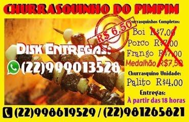 CHURRASQUINHO DO PIMPIM