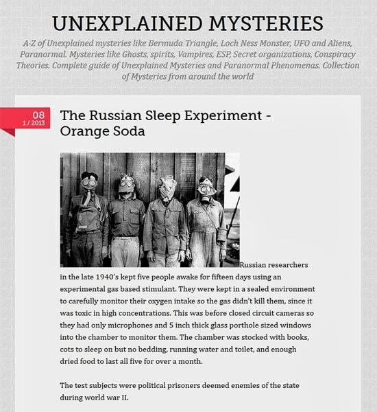 Το απάνθρωπο Ρωσικό πείραμα αϋπνίας...? 4