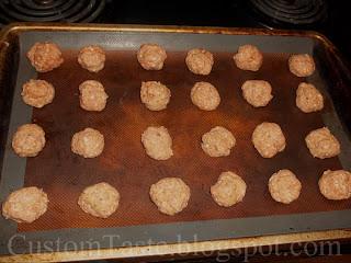 Southern Border Meatballs by Custom Taste