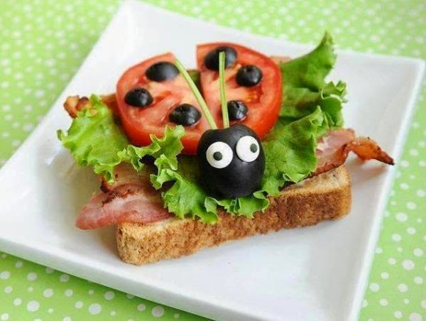 Fun food art ideas for kids creative art and craft ideas for Cool food ideas for kids