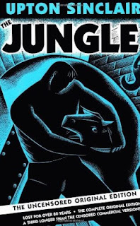 "Cover of ""The Jungle"", a novel by Upton Sinclair"