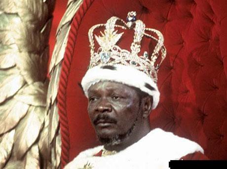 السفاح الأفريقي Jean Bedel Bokass