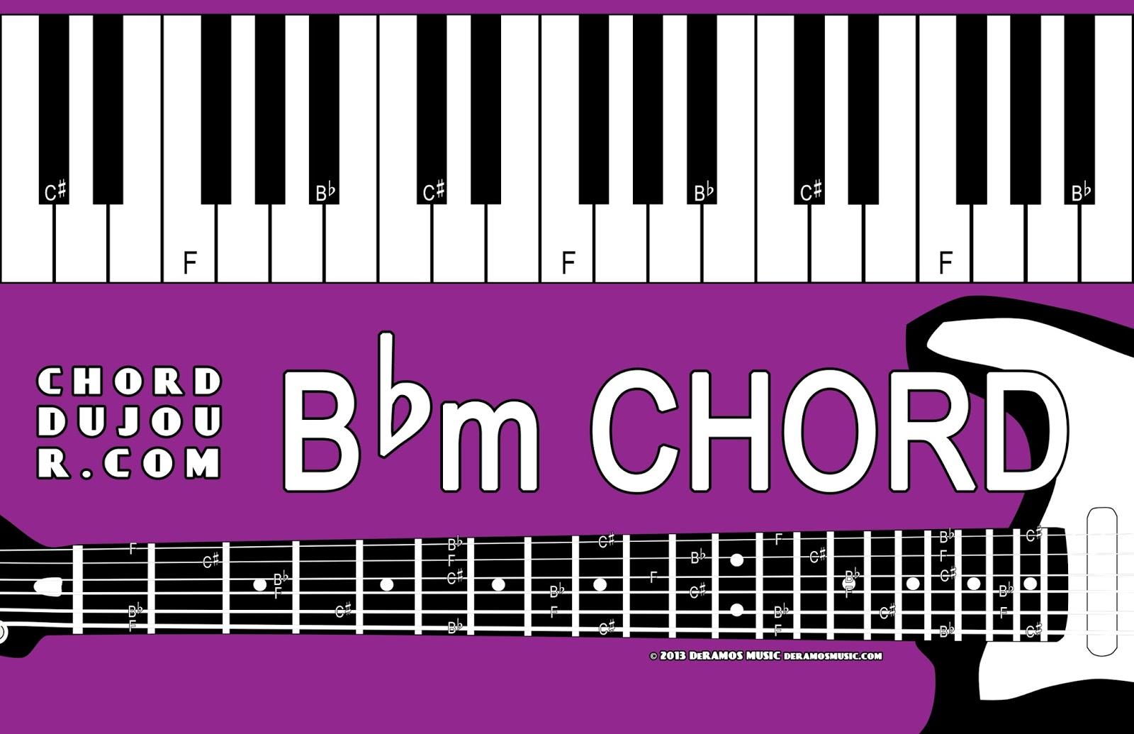 Chord Du Jour Dictionary Bbm Chord