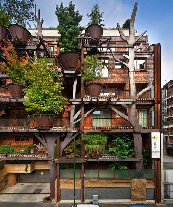 Urban Tree House