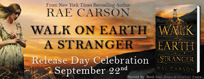 Release Day Celebration: Walk on Earth a Stranger by Rae Carson + Giveaway (US Only)