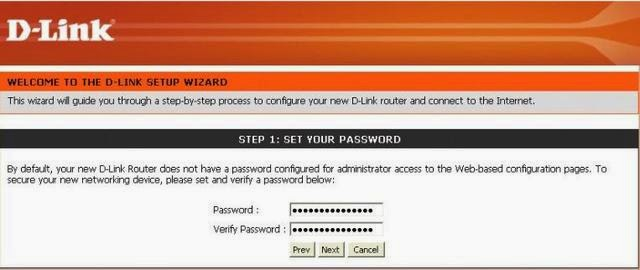 how to create wifi password dlink