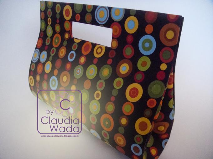 Bolsa Feita Em Cartonagem : Cursos by claudia wada bolsa gabriela
