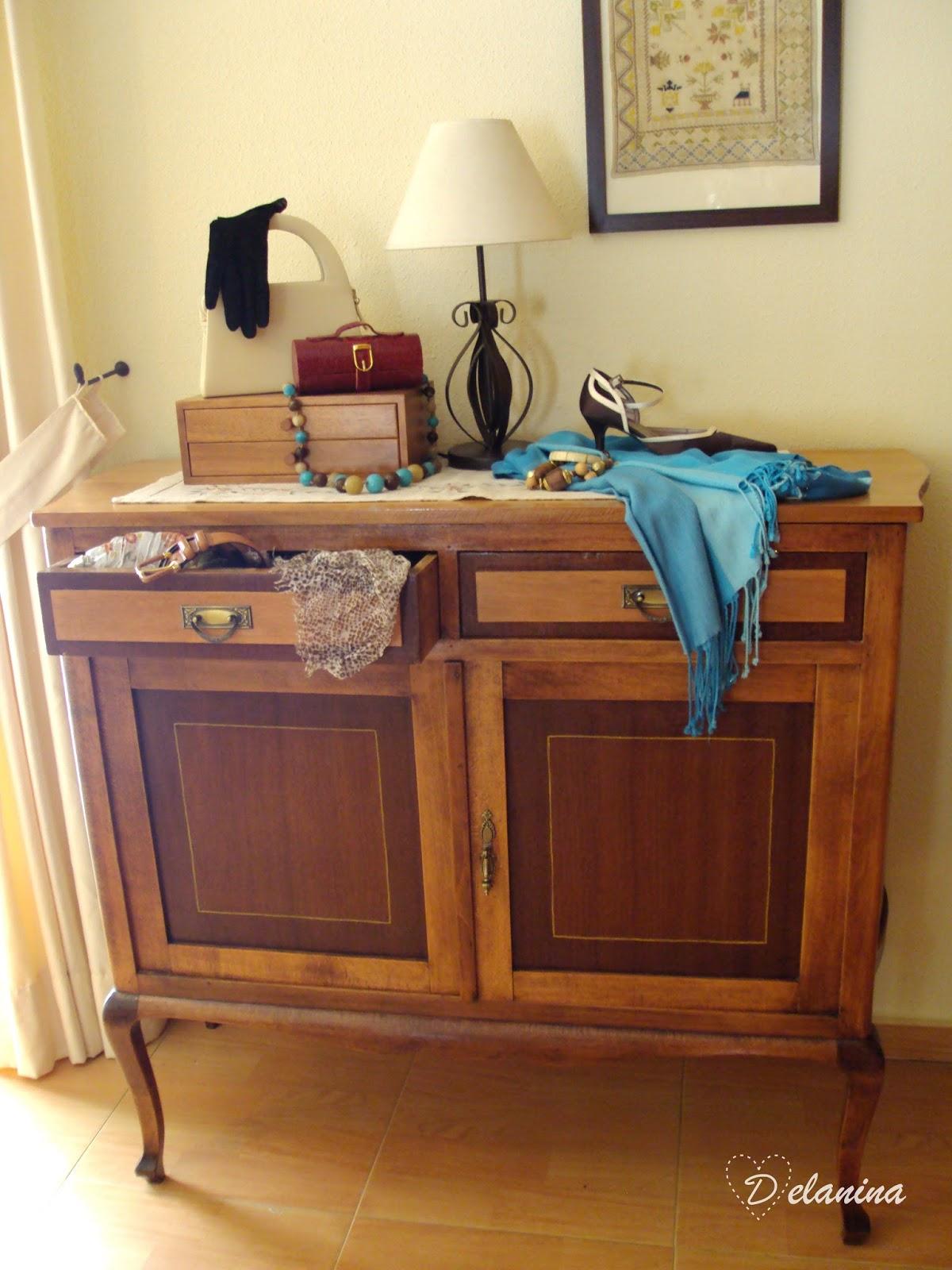 Restaurar un viejo aparador y convertirlo en un mueble - Restaurar un mueble barnizado ...