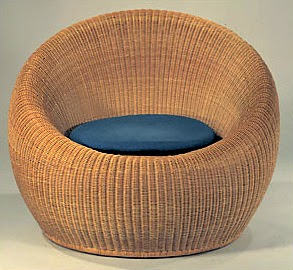 Attirant Rattan Basket Weave Chair By Isamu Kenmochi Nytimes.com
