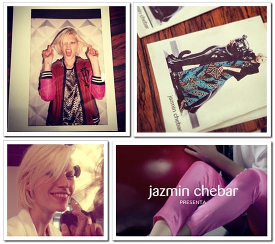 Jazmin Chebar otoño invierno 2013 Campaña Back