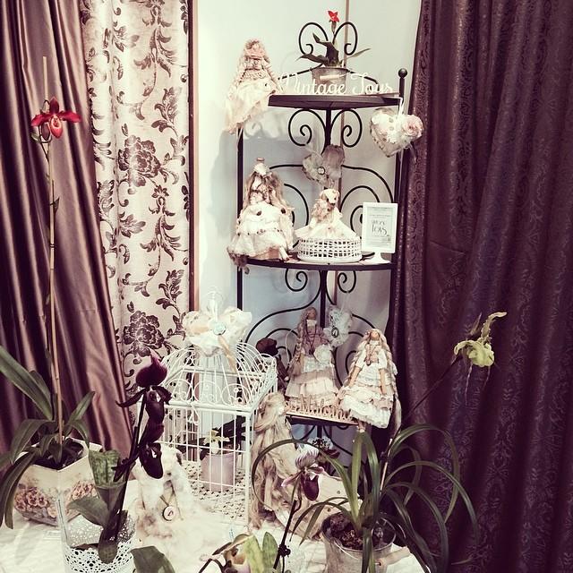 Выставка орхидей и кукол в Риге