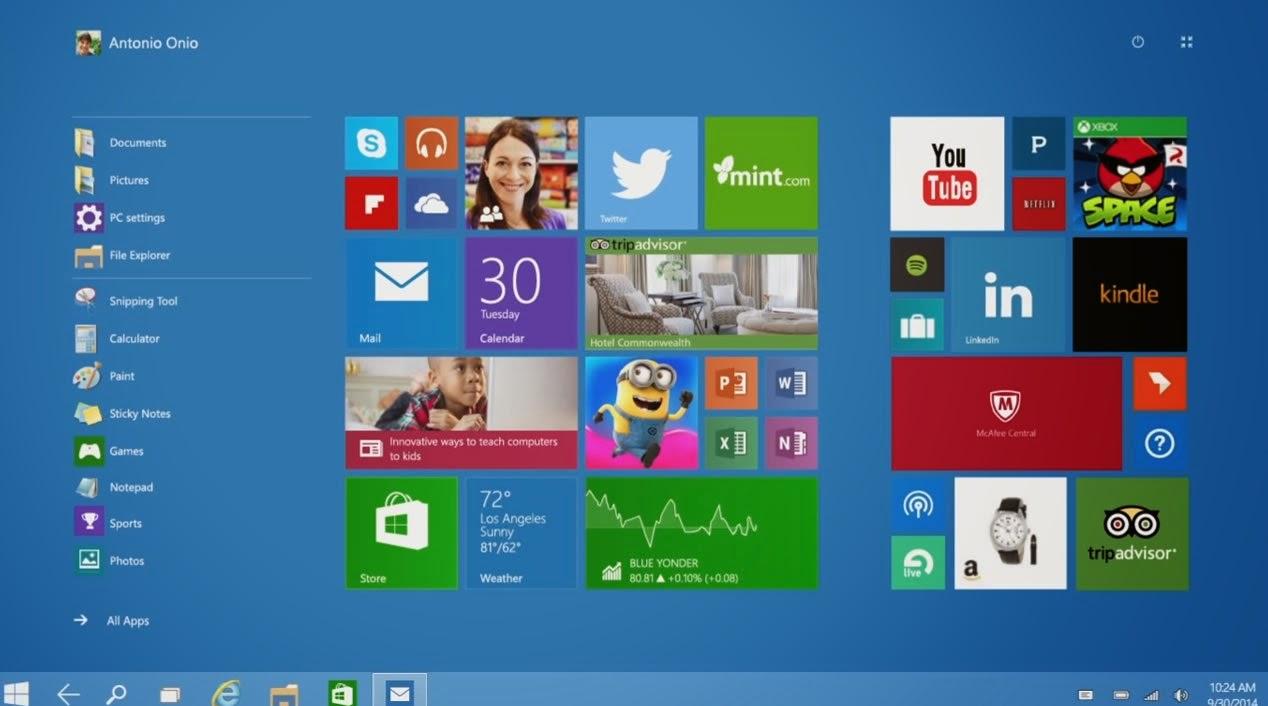 Microsoft presentó Windows 10