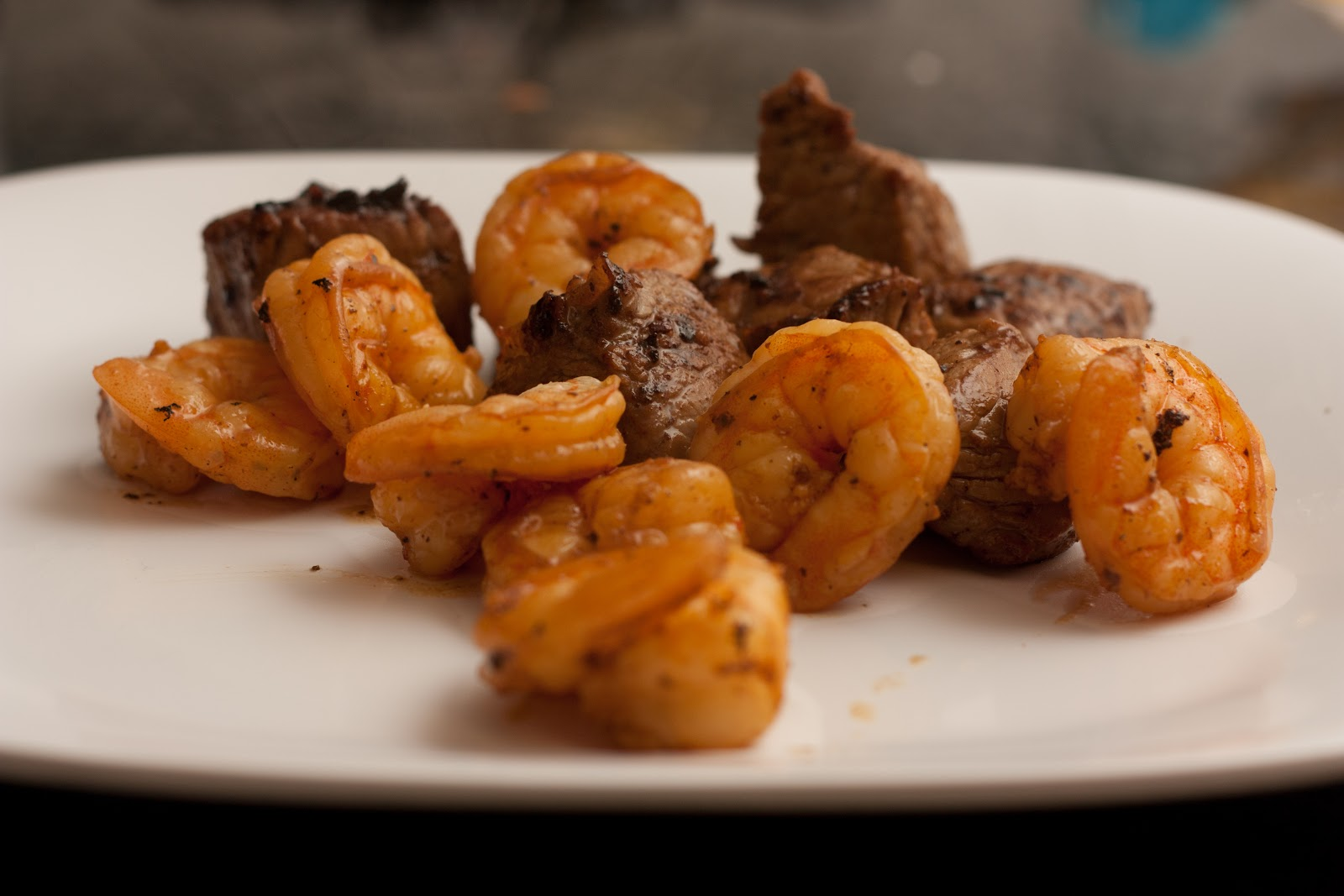 The Cave Mommy: Steak Bites and Shrimp