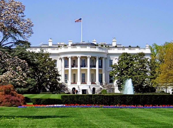 The White House - haunter place ranked 3rd