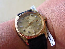 ROLEX OYSTER PERPETUAL DAY DATE PRESIDENT GOLD DIAL DIAMOND INDEX - ALL GOLD - ROLEX 1803 GOLD DIAL