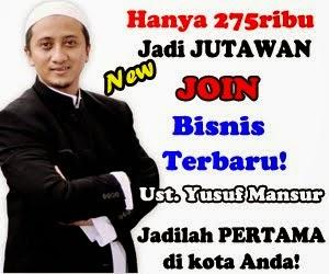 Bisnis Online Syariah bersama Ustadz Yusuf Mansur
