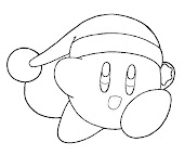 #21 Kirby Coloring Page