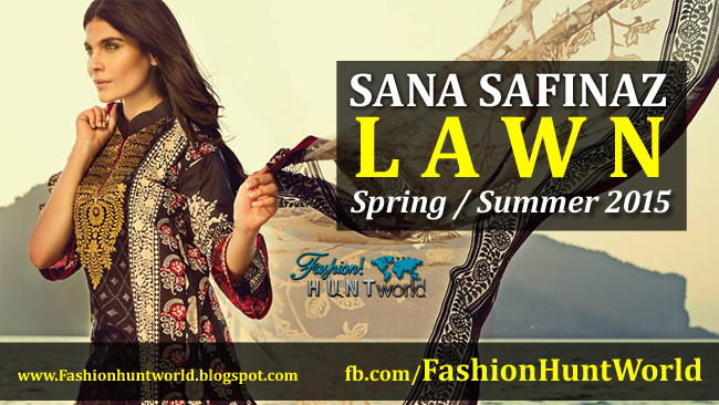 Sana Safinaz Spring / Summer Lawn 2015 Catalogue