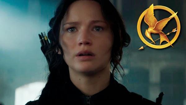 """Jennifer Lawrence como Katniss en """"Los Juegos del Hambre: Sinsajo Parte 1"""""""