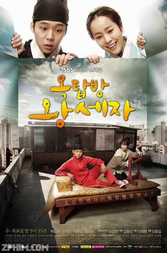 Hoàng Tử Gác Mái - Rooftop Prince (2012) Poster