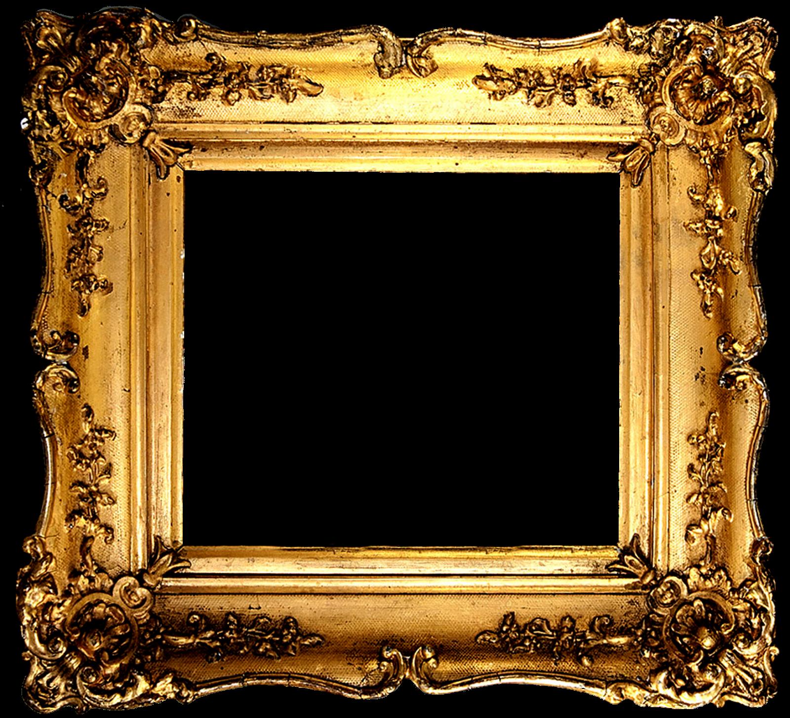 vintage gold gilded frames free printables
