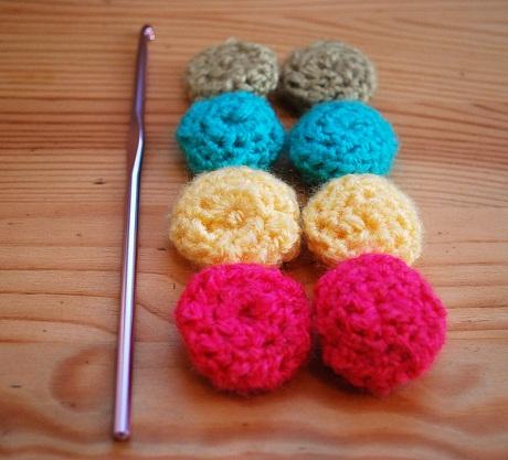 Crochet Button Pattern, As Seen on Knitting Daily TV