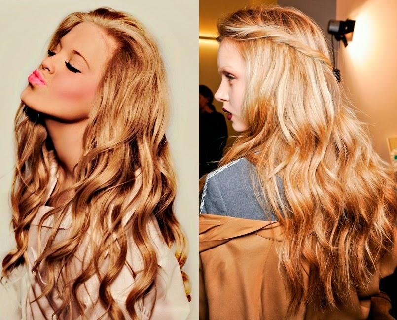 Peinados con cabello suelto faciles y bonitos