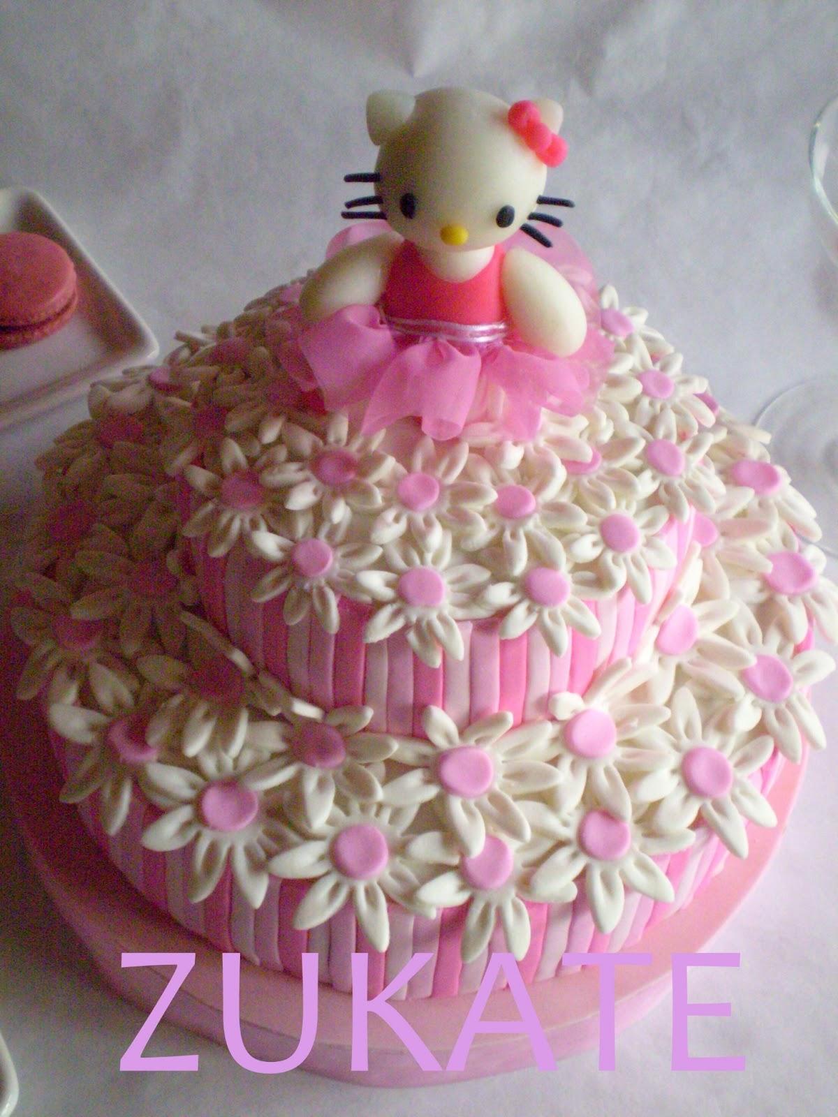 Kitty Decoracion De Tortas ~ Tartas de Hello Kitty para cumplea?os  Imagui