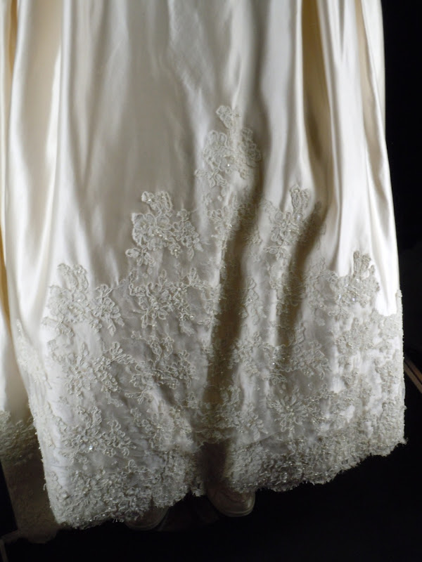 Father of the Bride wedding dress hem