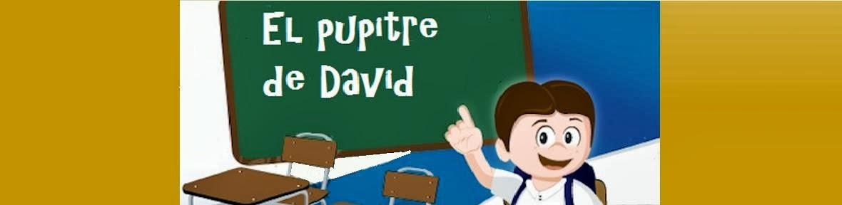 El pupitre de David