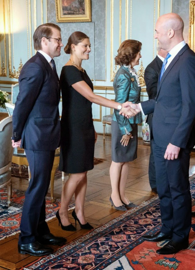Swedish Royal Family hosted a luncheon in honour of the former government