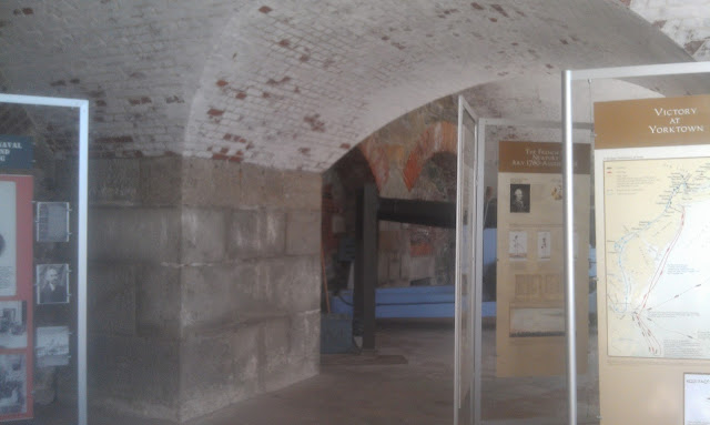 Inside Fort Adams