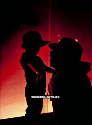 fotos de lil wayne con su hijo dwayne michael carter junior