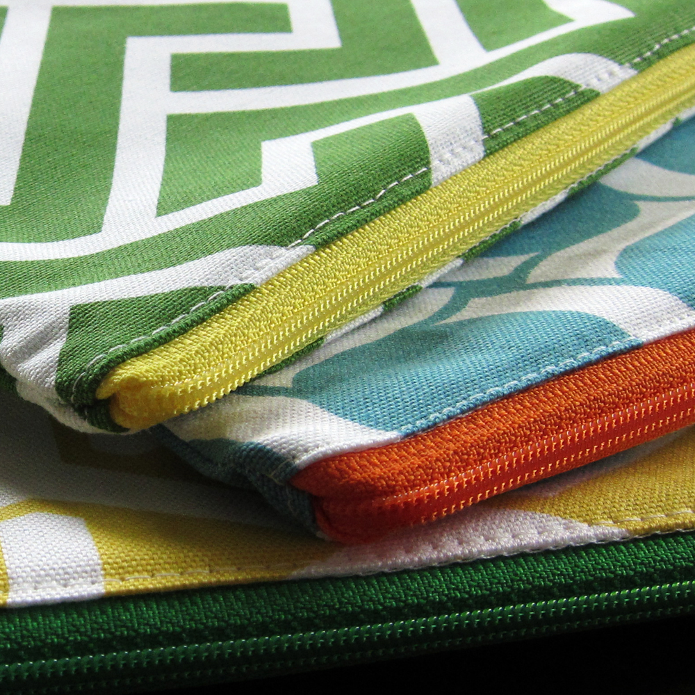 Zippered Knitting Project Bag Tutorial : Floating on cloud geocentric week knitting project